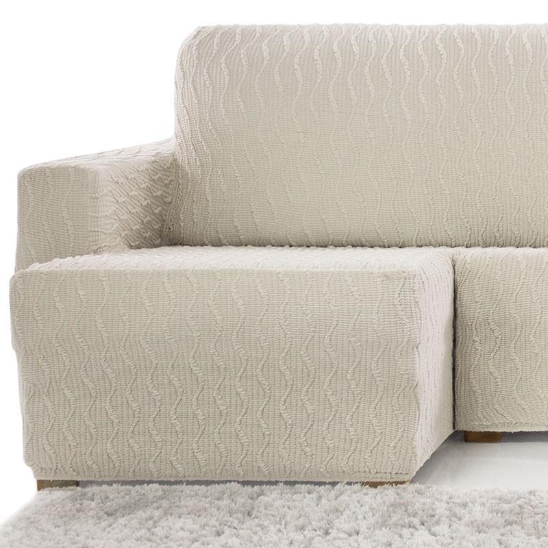 Fundas elasticas chaise longue finest funda elastica de - Funda para chaise longue ...