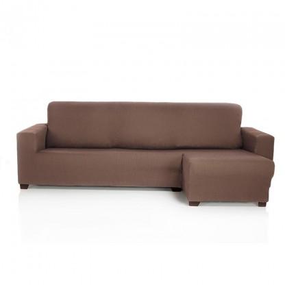 Funda de sofá chaise longue elástica Rustica